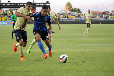 Rafa Andrade Santos headed in a rebound in the 52nd minute to knot it at 1-1.